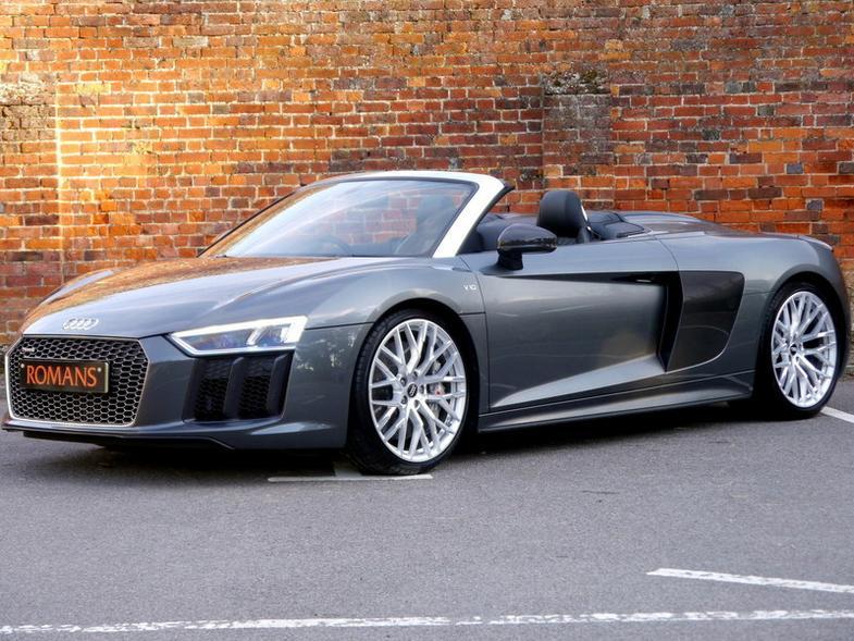 Audi R8 V10 Plus Spyder S-Tronic quattro - Massive Specification